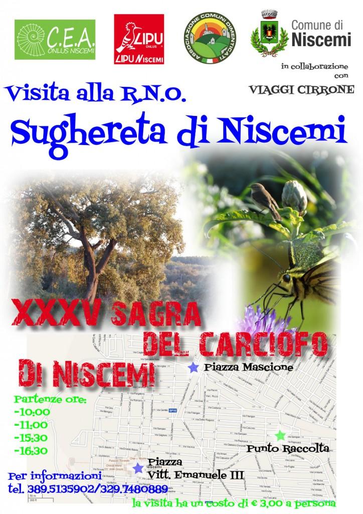 Visita la RNO Sughereta di Niscemi - XXXV Sagra del Carciofo di Niscemi